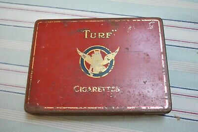 Turf Cigarette Tin Very Old