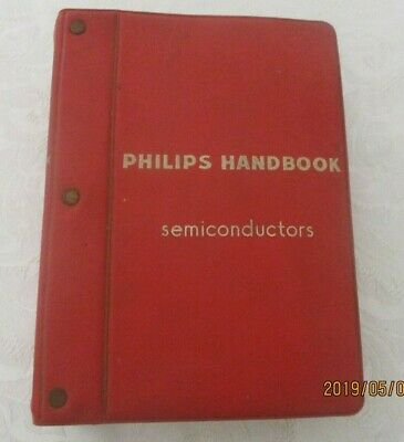 Vintage Philips semiconductors Hand book 1957-63