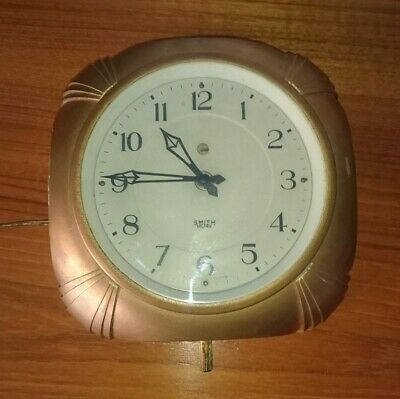 Smiths Sectric Art Deco Bakelite Wall Clock 1930s. ~ Deco wall clock ~ 1930s