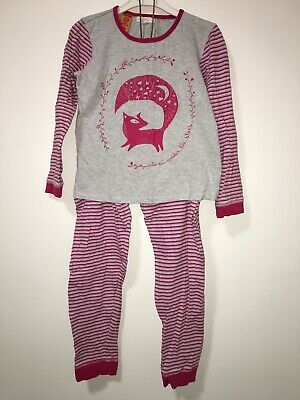 Girls size 8 PUMPKIN PATCH sleep under the stars Fox pyjamas (*bulk lot/bundle)