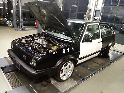 VW Golf 2 1.8 Liter GTI 16V KR PL ORIGINAL Police Car kein G60 VR6 Turbo r32 g40