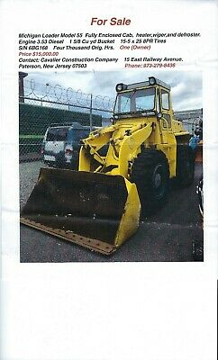 Equipment Front End Loder's Trailers  Dump Truck Tractor