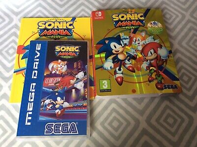 Boxed Nintendo Switch Game Sonic Mania Plus The Hedgehog GWO Free P+P