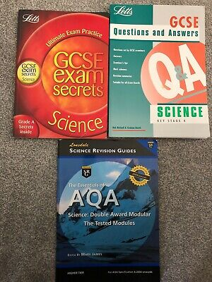 Science Exam Secrets GCSE Questions & Answers Very Good Condition