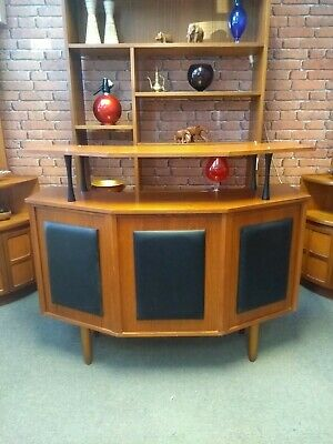 Vintage Retro Mid Century Teak Cocktail Drinks Bar Collection Ramsgate Kent