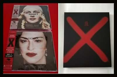 Madonna Madame X Ukraine Cd Set Numbered Sealed + Vip Book Tour New . Madame X