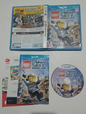 LEGO City Undercover Game (Nintendo Wii U, 2013) Complete with Manuals - CANADA