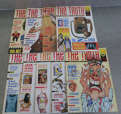 Rare **THE TRUTH** The Comedy Magazine 9 Issues