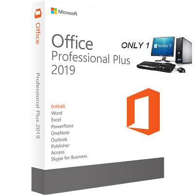Microsoft Office 2019 Professional Plus License Key Lifetime %100 5 Sec Delivery