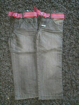 2 pairs boys Black Jeans Age 4-5 Years From M&s Bnwt