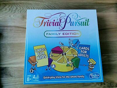 Trivial Pursuit Family Edition Board Game Hasbro brand new sealed