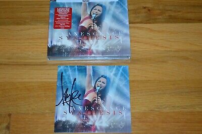 """EVANESCENCE ~ Amy Lee Autographed  """" Synthesis Live """" CD / DVD Limited Edt 2018"""