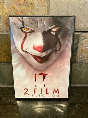 IT CHAPTER ONE / IT CHAPTER TWO - 2 Film Collection (DVD) >MINT DISCS<