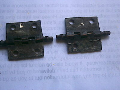 Longcase Grandfather Clock  Door Hinges  C1790