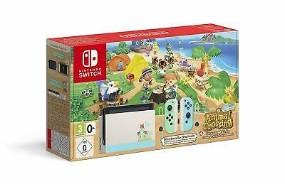 Nintendo Switch + Welcome To Animal Crossing New Horizons Spielekonsole Edition