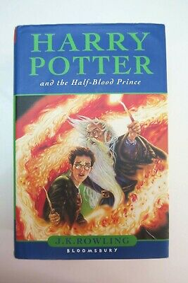HARRY POTTER AND THE HALF-BLOOD PRINCE JKRowling 1st Ed Hard back & dust jacket