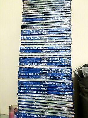 Job Lot Clearance Stock Wholesale bargain 100 Fishing book joblot collection