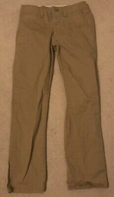 Boys GAP Beige Trousers Chinos Size 8 Regular Standard Straight Leg NEW