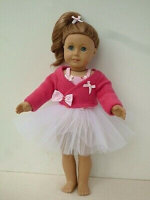 American Girl Our Generation  Ballet Tutu Ballet Cardigan 18 Inch Doll Clothes