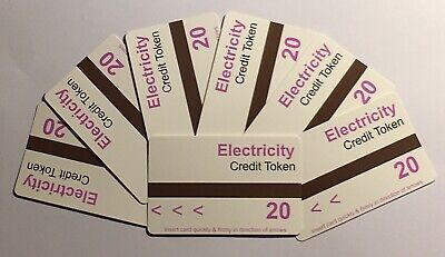 *** £20 Ampy Electric Card Only £1.50 (£20 Card) - Security Code A