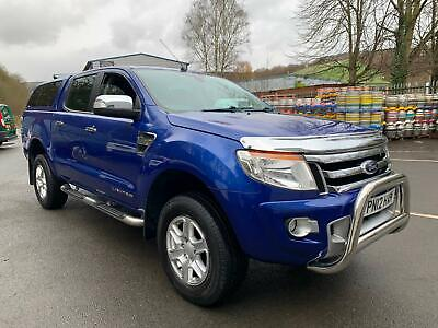 2012 Ford Ranger LIMITED 2.2TDCi 150PS DOUBLE CAB 4X4 PICK-UP, NO VAT !!!