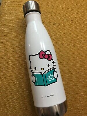 Sanrio Hello Kitty Metal Water Bottle - Science Book