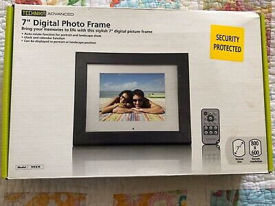 7 inch digital photo frame By Technika