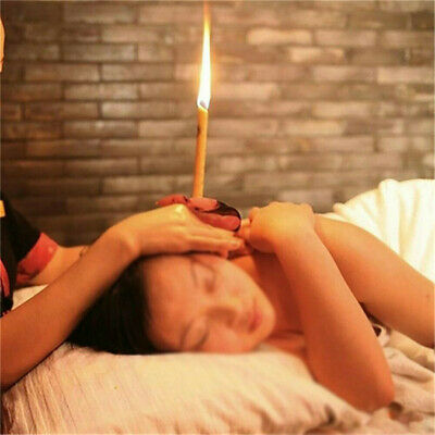 10Pcs Hopi Ear Candling Candel Natural Beeswax Excellent Quality Wax Candles QV