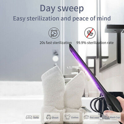 LED Portable Sterilize UV-C Light Disinfection Germicidal UV Lamp Handheld USB