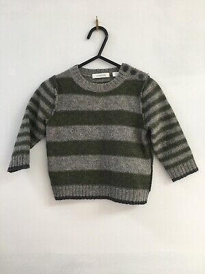 Country Road Boys 100% Wool Jumper Sweater Size 3 - 6 Months