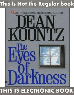 The Eyes Of Darkness 1981 novel By Dean Koontz Virus Outbreak (E-BððK)