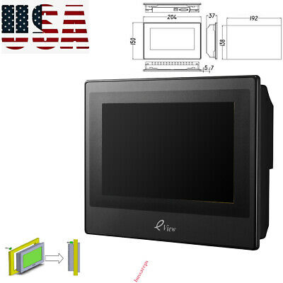 KINCO 7 HMI Touch Screen LCD Operator Panel eView ET070 HMIware v2.2&Cable A+ US