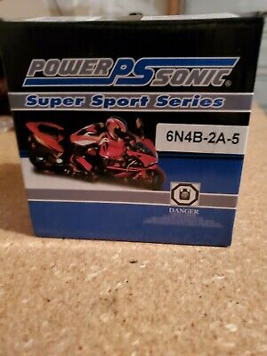 New Power Sonic 6N4B-2A-5 Battery for Honda PA50/Hobbit/Camino