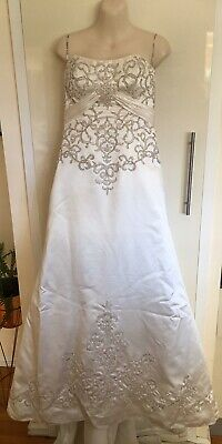 Maggie Sottero Couture Strapless Wedding Dress Dress Up Size 8