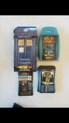 Top Trumps Doctor Who 45 Years Of Time Travel