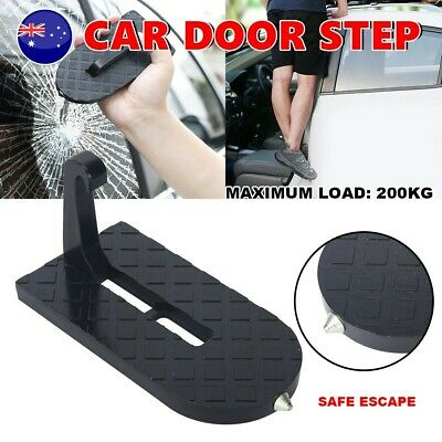 Car SUV Door Step Doorstep Vehicle Access Roof Rooftop Pedal Latch Hook Foldable
