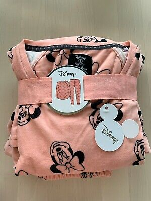 Minnie Mouse Disney Pink Pyjamas Size Small