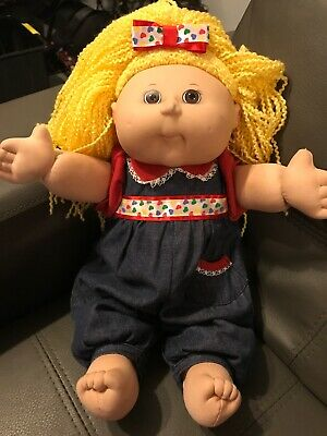 2004 Play Along Cabbage Patch Doll Blonde Hair