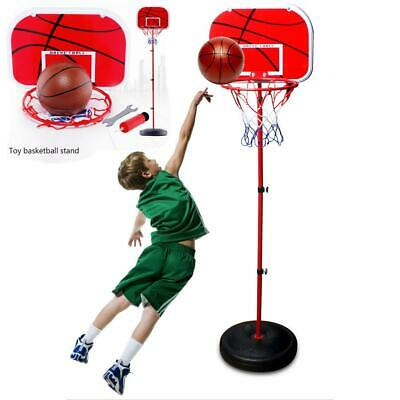 Basketball Hoop Stand Adjustable Height With Stand In/Outdoors Kid Toy Portable