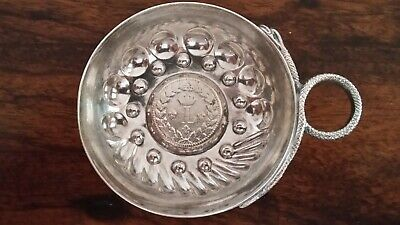 Antique  1815 Coin  French Wine Taster