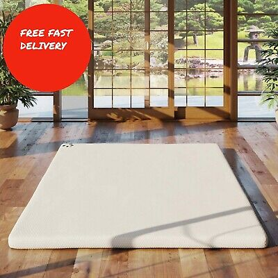 Panda Memory Foam Bamboo Mattress Topper Single Double King Size - Brand New
