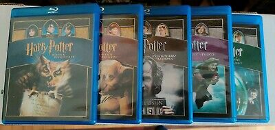 Harry Potter Blu-ray Collection - (1, 2, 3, 4, 5)