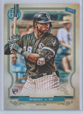 LUIS ROBERT 2020 Topps Gypsy Queen RC Chicago White Sox Rookie Card