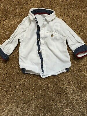 Baby Boy Smart Formal Shirt 9-12 Months
