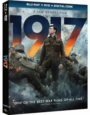 1917 Blu-ray + DVD (No Digital) with Sleeves Cover Brand New Untouched Disc