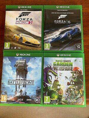 XBOX ONE Four Game Game Bundle
