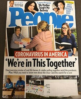 PEOPLE Magazine April 6 Virus In America We're In This Together