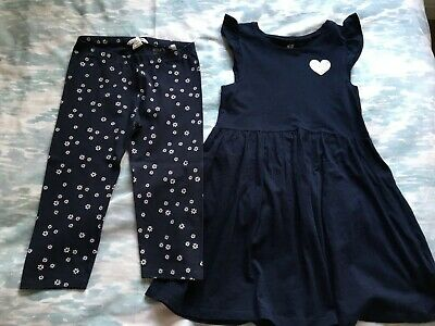Girls Dress and Leggings - 2-Piece Outfit H&M age 6-8 Years