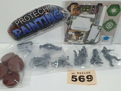 Star Wars Legion - Rebel Troopers Unit Expansion - Part Painted (569)