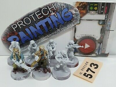 Star Wars Legion - Rebel Troopers Unit Expansion - Part Painted (573)